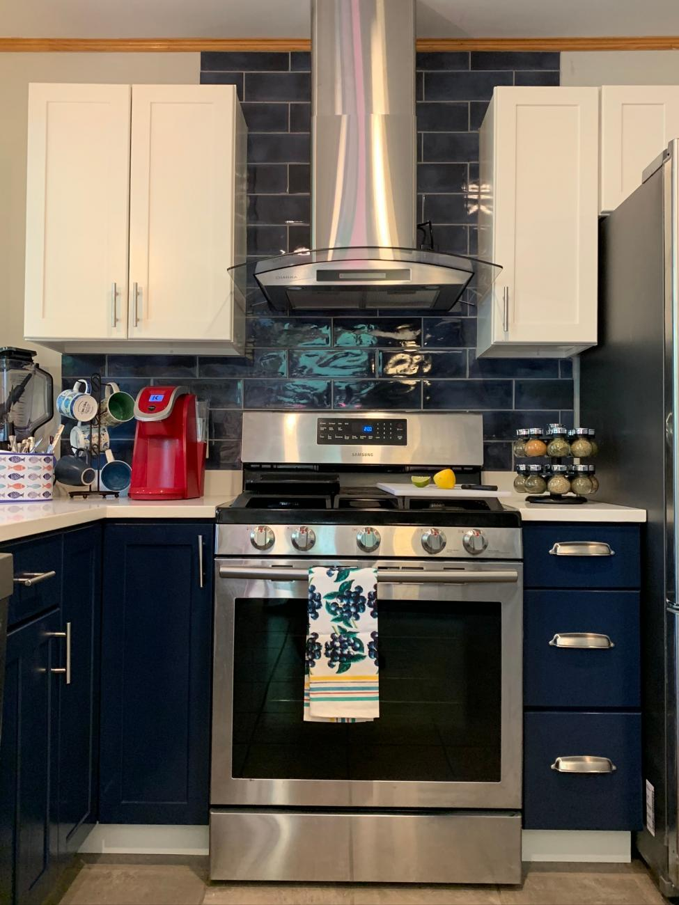 Kitchen Stove Countertop Renovate